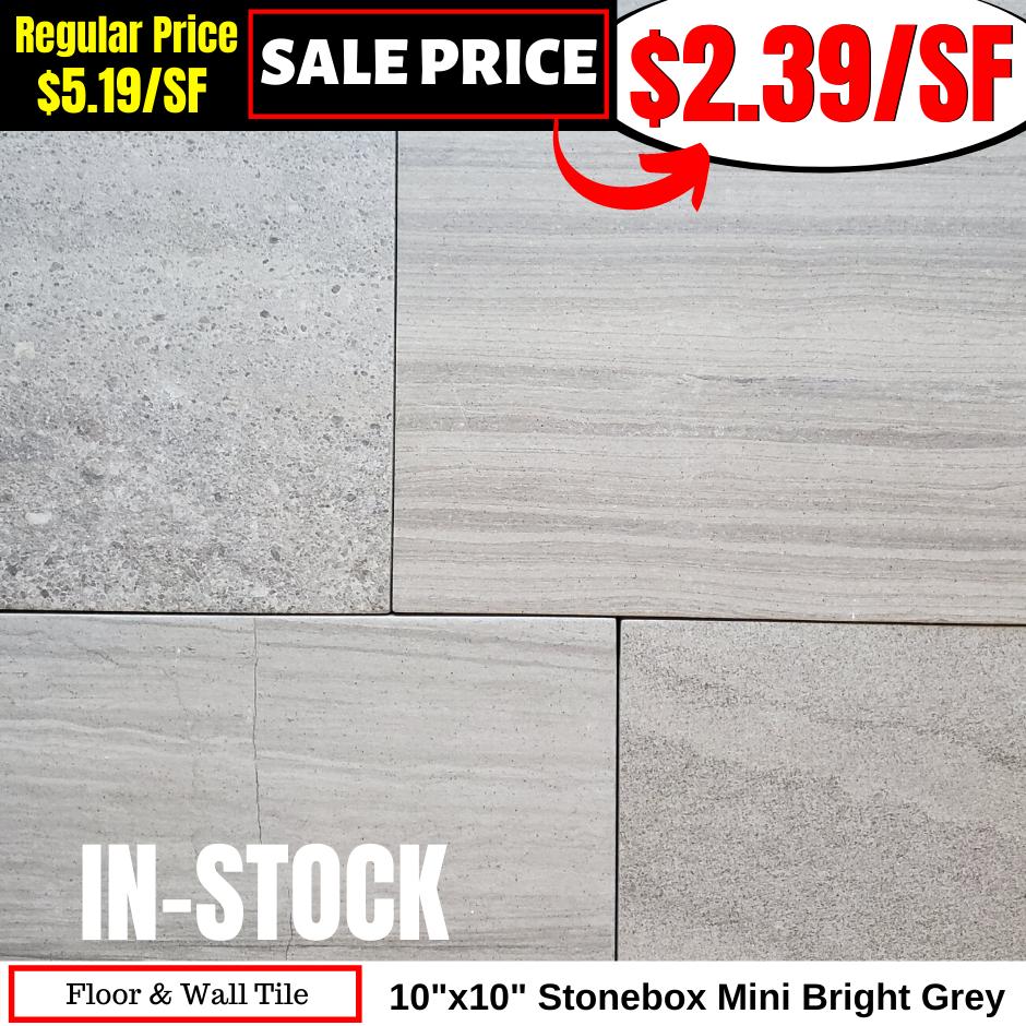 1010 Stonebox Mini Bright Grey
