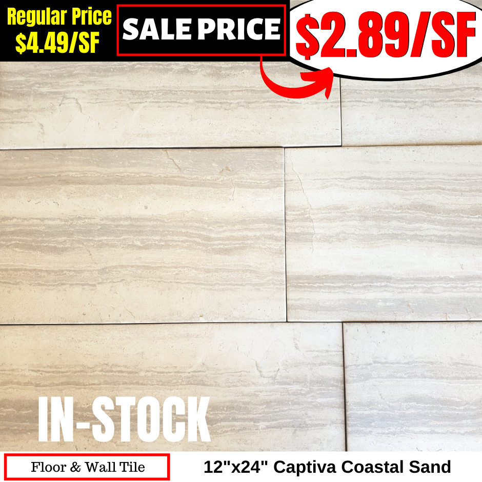 12x24 Captiva Coastal Sand