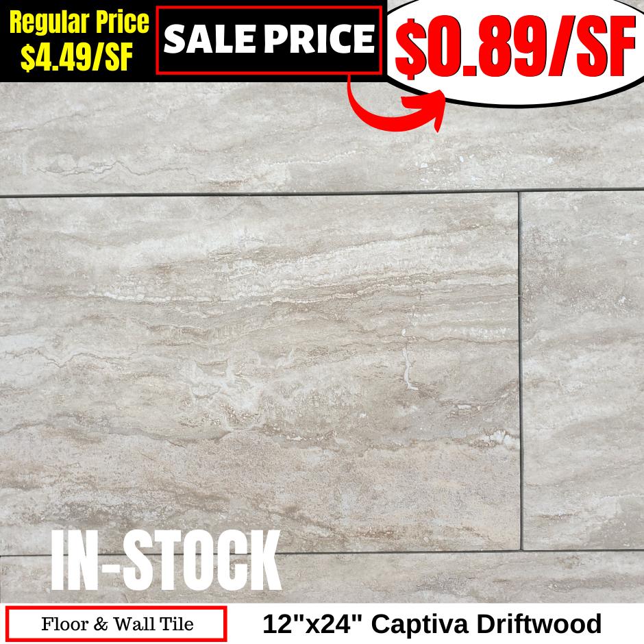 12x24 Captiva Driftwood