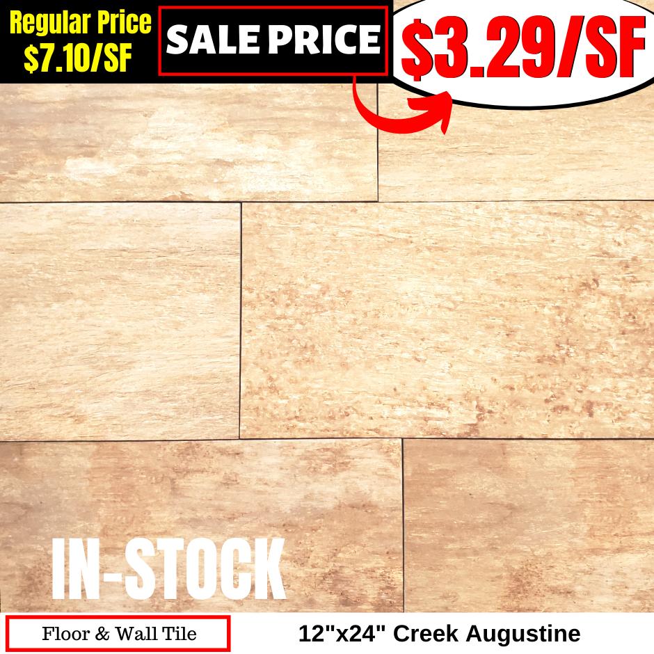 12x24 Creek Augustine