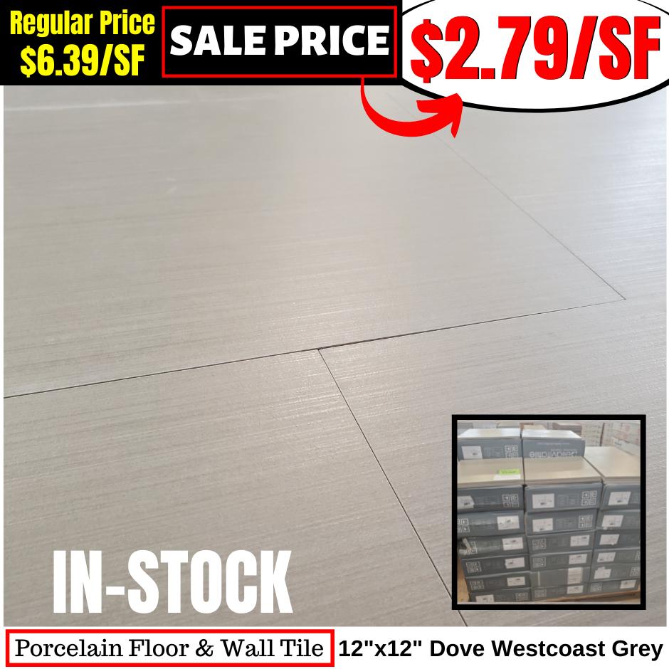 12x12 Dove Westcoast Grey